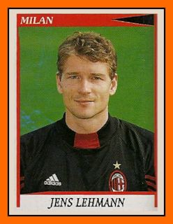 Old School Panini: The day when Jens LEHMANN failed at Milan