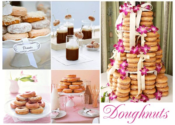 Krispy Kreme Wedding Cakes Samples