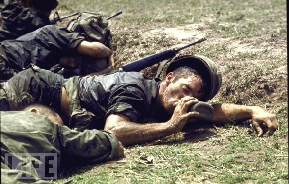 Vietnam: Exhausted  The country was growing increasingly weary of war when in, the May 22, 1970, issue of LIFE, Clark Clifford -- a former Secretary of State who was also an adviser to presidents Truman, Kennedy and Johnson -- wrote an editorial urging the American government to set an end date. While our servicemen and women, like this American infantryman exhausted from the heat near the Cambodia–South Vietnam frontier, put their lives at stake, Clifford asserted that President Nixon…