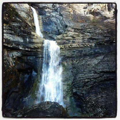 La Cascada del Sorrosal. A que mola