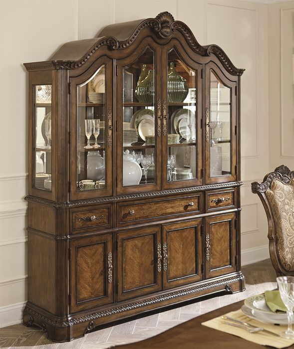 Legacy Classic Pemberleigh China Cabinet FurnitureDining Room SetsChina