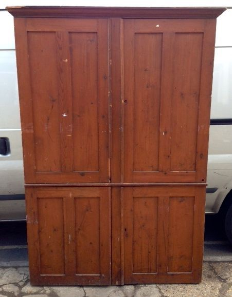 Large pine housekeeper's cupboard for sale on SalvoWEB from Architectural  Forum in London [ Salvo code - 87 Best Furniture - Reclaimed & Antique For Sale Images On