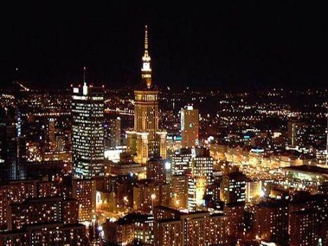 Warszawa, Poland....skyline at night