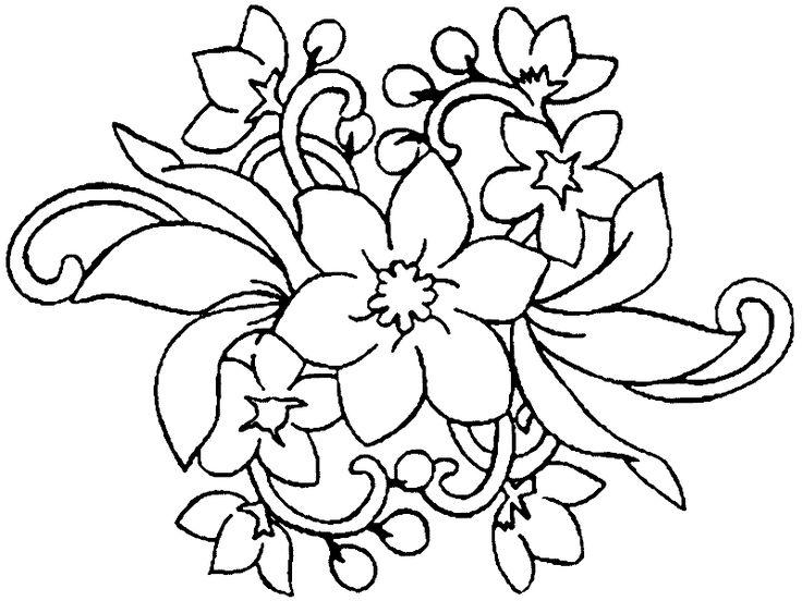 Malvorlagen Blumen Ranken Kostenlos   Malvorlagen