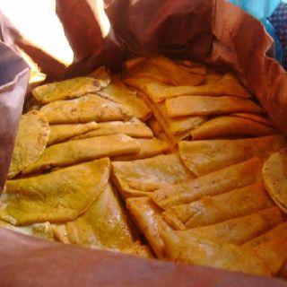Tacos de canasta! Son las mejores opciones si no tengas mucho dinero! :P