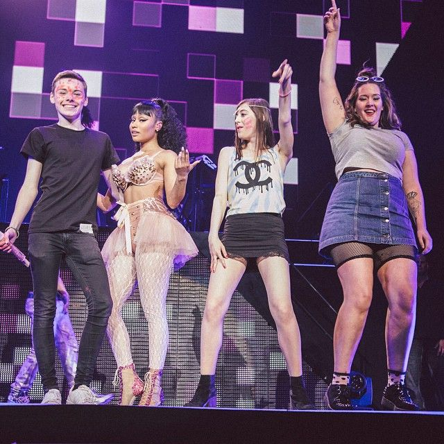Nicki Minaj dubs Glasgow 'funniest audience' of Pinkprint Tour By Mary McCool on Monday 13 April 2015