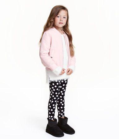 Treggings | Dark gray melange | Kids | H&M US