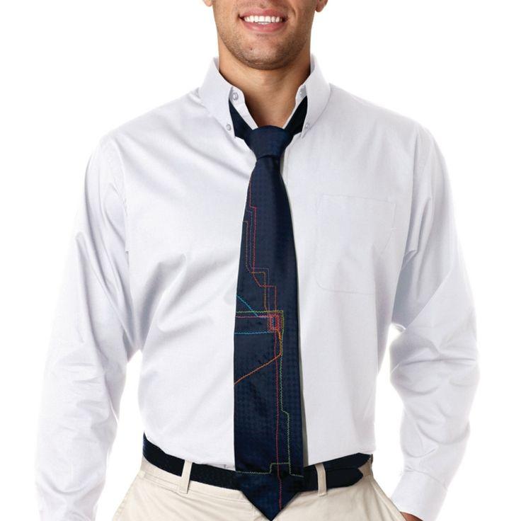Chicago Map Grid%0A hemd krawatte mehrfarbig modern futuristisch design accessoire  mode  tips   outfit  fashion