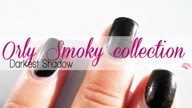 Come volevasi dimostrare, lo smalto scelto per la mia manicure è stato Darkest Shadow, per me il colore icona di questo autunno 2014. Uno smalto a base scura (azzarderei nera) con una miriade di gli...