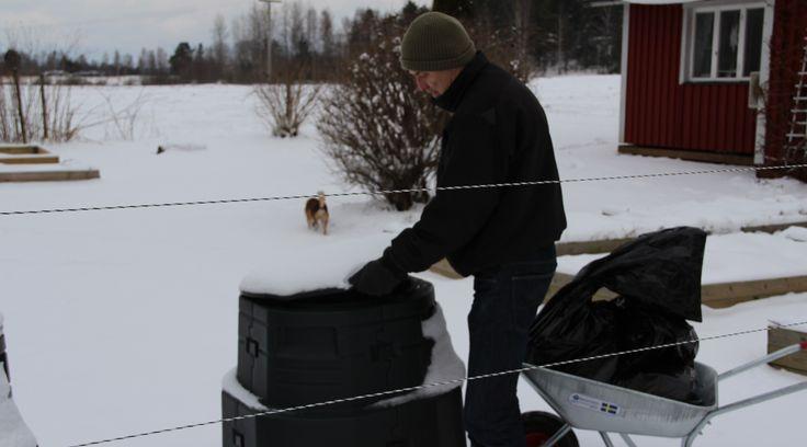 Använd din gamla varmkompost på vintern. | Bokashi.se