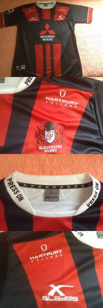 Rugby 21563: Gloucester Euro 15 16 Rugby Jersey Nwot Xl ,Made By Blades,England Rugby Htfind -> BUY IT NOW ONLY: $45 on eBay!
