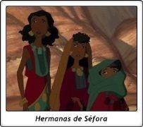 Hermanas de Séfora / Tzipporah sisters / El Príncipe de Egipto / The Prince of Egypt / 1998 / Dreamworks