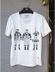 Chanel Robot T-shirt White 2018