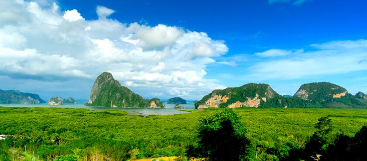 Der wunderbare Nangshe Viewpoint unweit von Phuket - http://travel.flashpacking4life.de/nangshe-viewpoint-in-phang-nga-einer-der-schoensten-in-thailand/