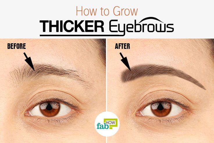 How To Make My Eyebrows Grow Faster Naturally
