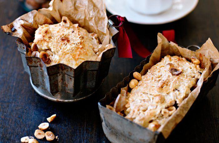 Scones med nötter och parmesan