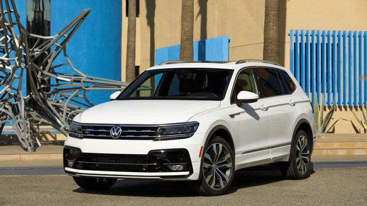 VW's new Tiguan crossover gets R-Line trim