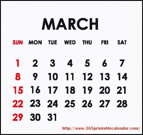 Best Collection of March 2015 Calendar Template. Cute March 2015 Calendar With Holidays Canada, UK, USA and Printable Pdf, Template, Design, Word, Excel, Doc.