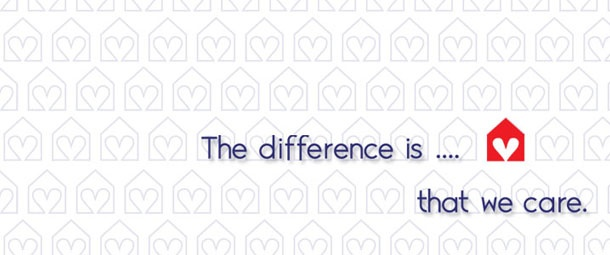 The difference is... that we care.