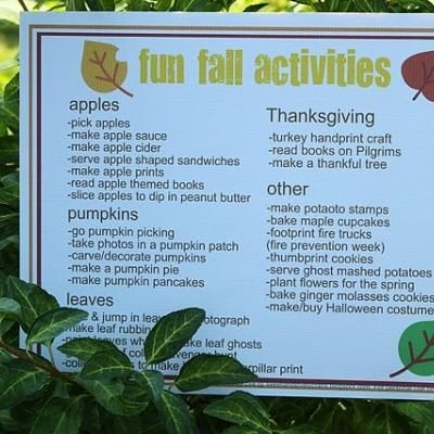 fun fall activites for kids activity printables fall