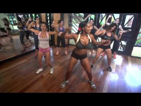 Ejercicios de Cintura, Baja De Peso Con Tiffany Rothe - YouTube