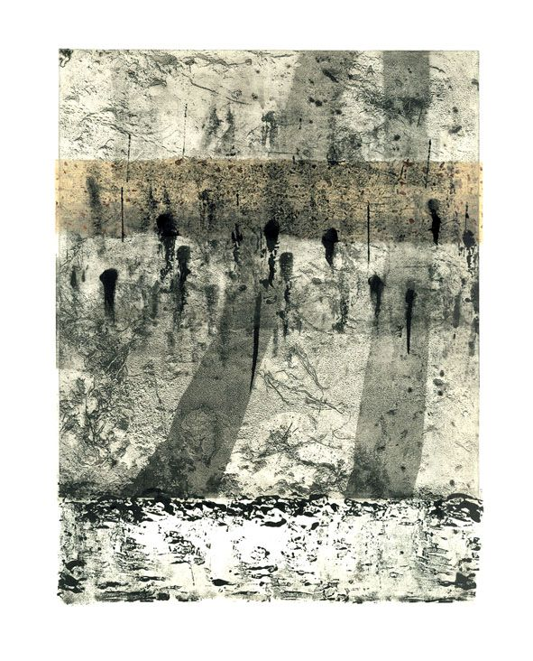 Jurgita Gerlikaite. 2004. Photopolymer gravure, collage.