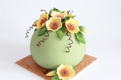 Ball cake By dutchcakes on CakeCentral.com