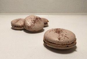 Macarons med karamel