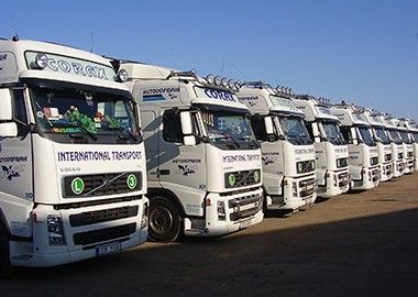 Kontakty | Corax International Transport