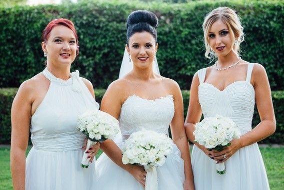 Hair and makeup by Harpier! #wedding #weddinghair #weddingmakeup #bridal #bridalmakeup #bridalhair #highbun #loosecurls #weddingdress #weddingflowers #gorgeous #glamour #wedding #mobilestylist #brisbane #goldocast #sunshinecoast www.harpier.com