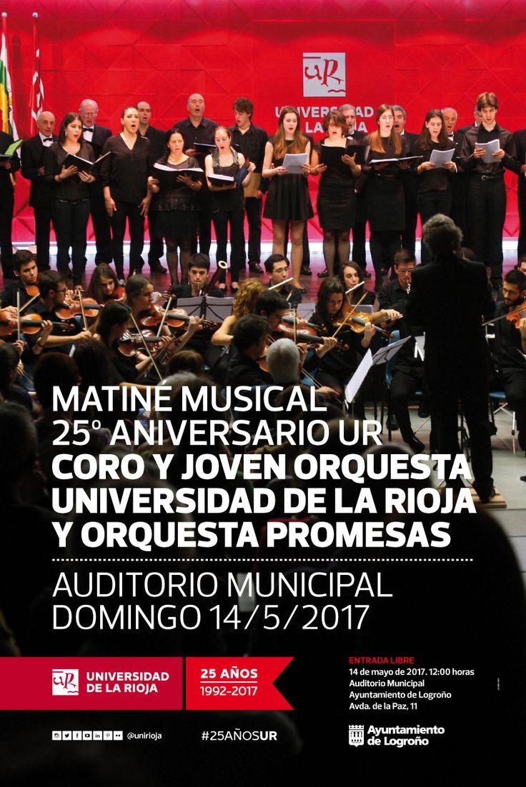 Matiné musical del Collegium Musicum La Rioja por el 25º Aniversario de la UR