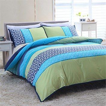 Bedding & Bedroom Decor - Briscoes - Hartford Home Sangria Duvet Cover Set