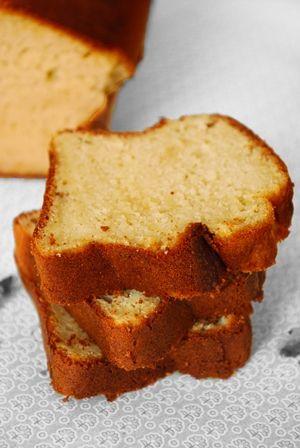 Cake mascarpone, amande et fleur d'oranger | Clea Cuisine