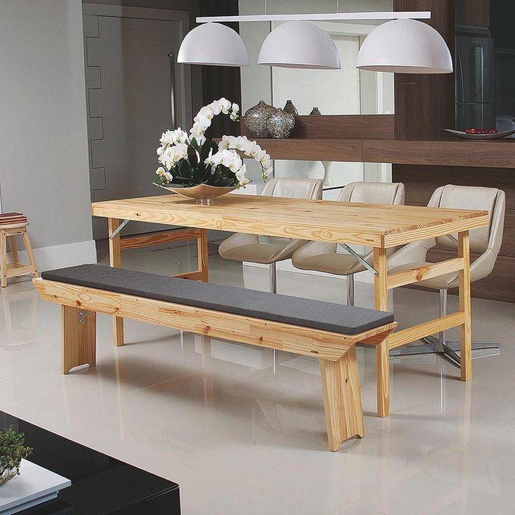 mesa jardim dobravel:Mesa Dobrável Naturalle Madeira – Tramontina – Tramontina com o