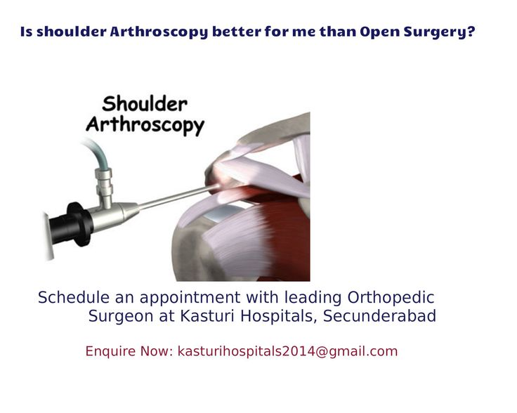 Shoulder Arthroscopy is a procedure that uses arthroscope (tiny camer) to look or repair the tissues inside or around your shoulder joint.. It helps to retain the function and mobility of shoulder Enquiry kasturihospitals2014@gmail.com