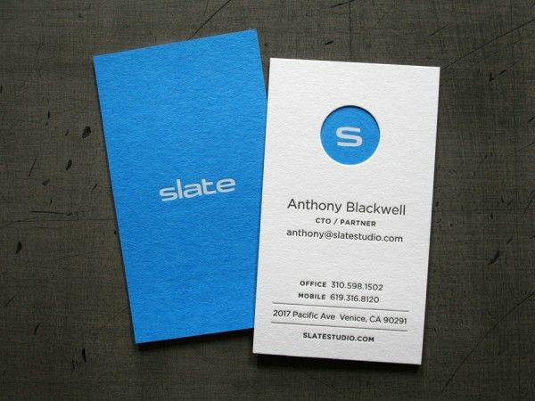 Slate Bus Cards // Studio On Fire