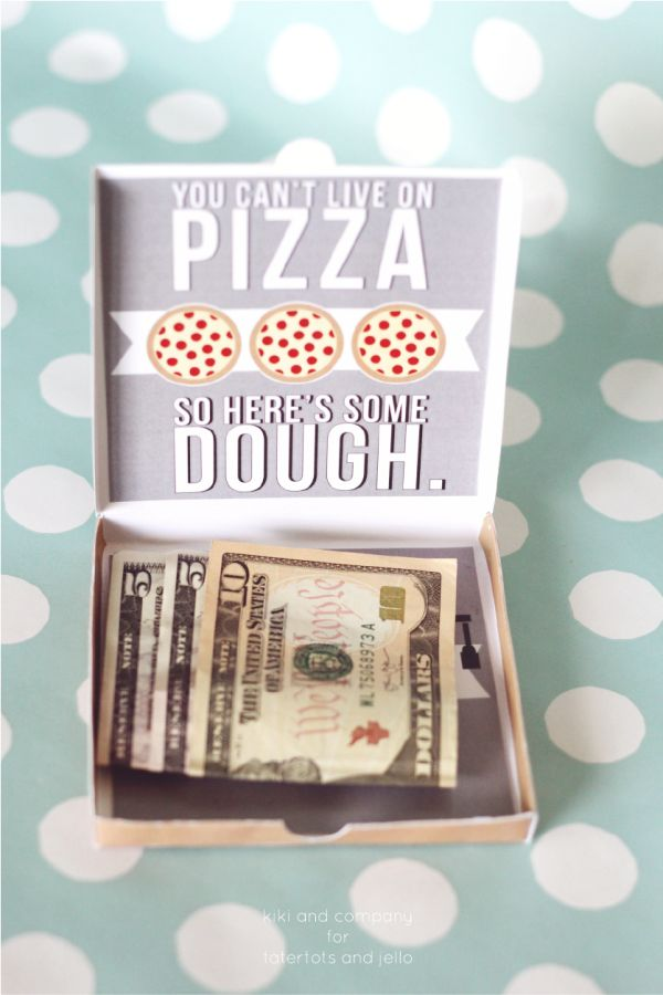 Graduation Money Card. Super Cute! Love this money gift idea!