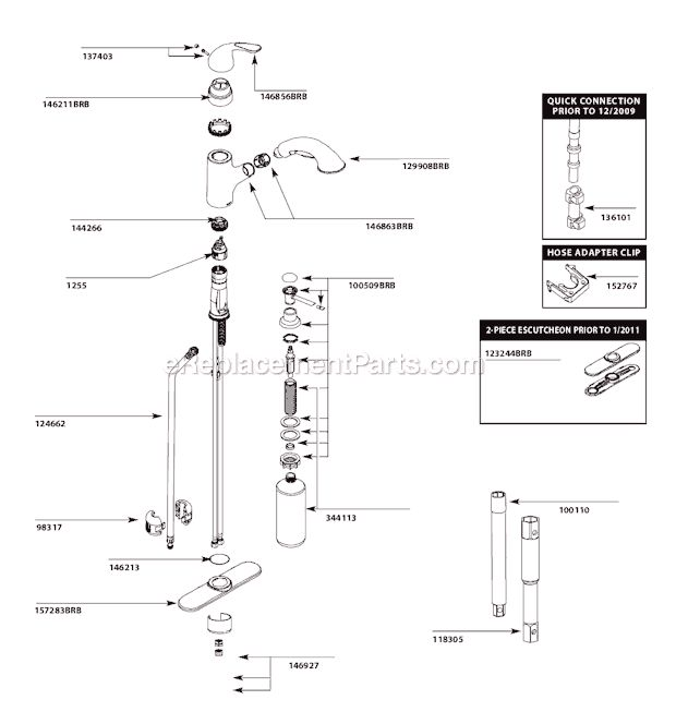 Moen Kitchen Faucet Drawing Moen Kitchen Faucet Repair Diagram Repair Moen  Kitchen Faucet Great Price Cheap Moen Chateau | Home Design | Pinterest |  Faucet ...