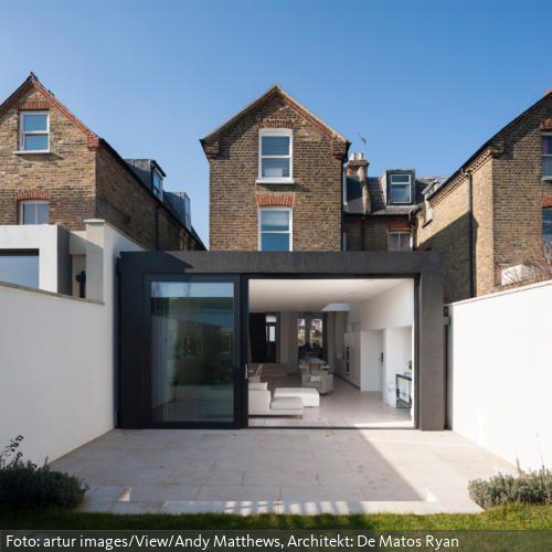 Moderner Anbau an klassischem Reihenhaus roomido Anbau - haus renovierung altbau london wird vier reihenhauser verwandelt