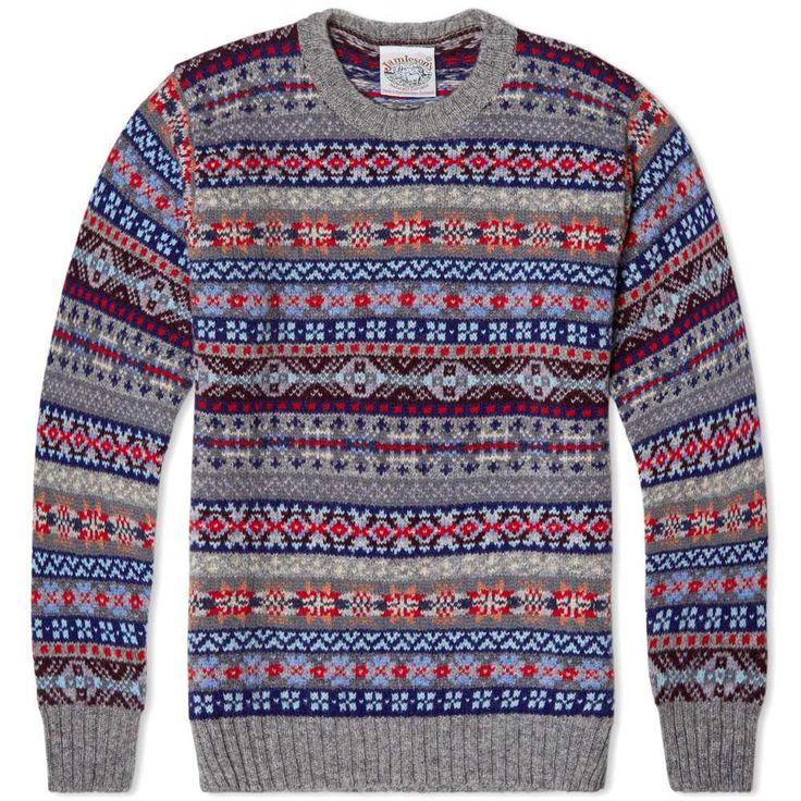 62 best Fair Isle images on Pinterest | Tricot crochet, Cardigans ...