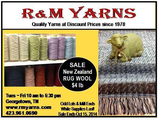 Discount Yarn Wholesale Yarn R&M Yarns Yarn on Cones