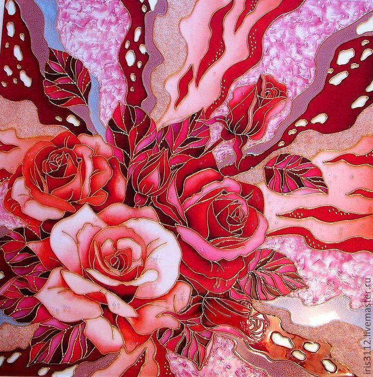 Картинки абстракция с розами
