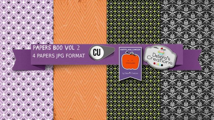 Papers Boo Vol 2 by Debora's Creations (CU)