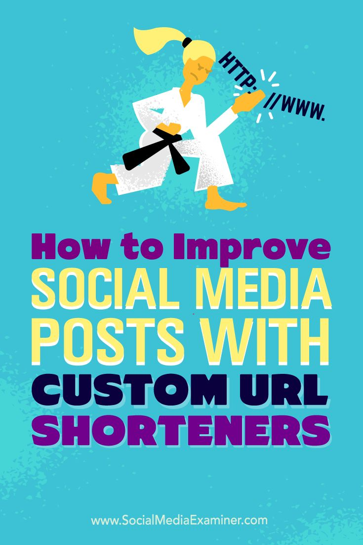 How to improve your social media presence with custom url shorteners