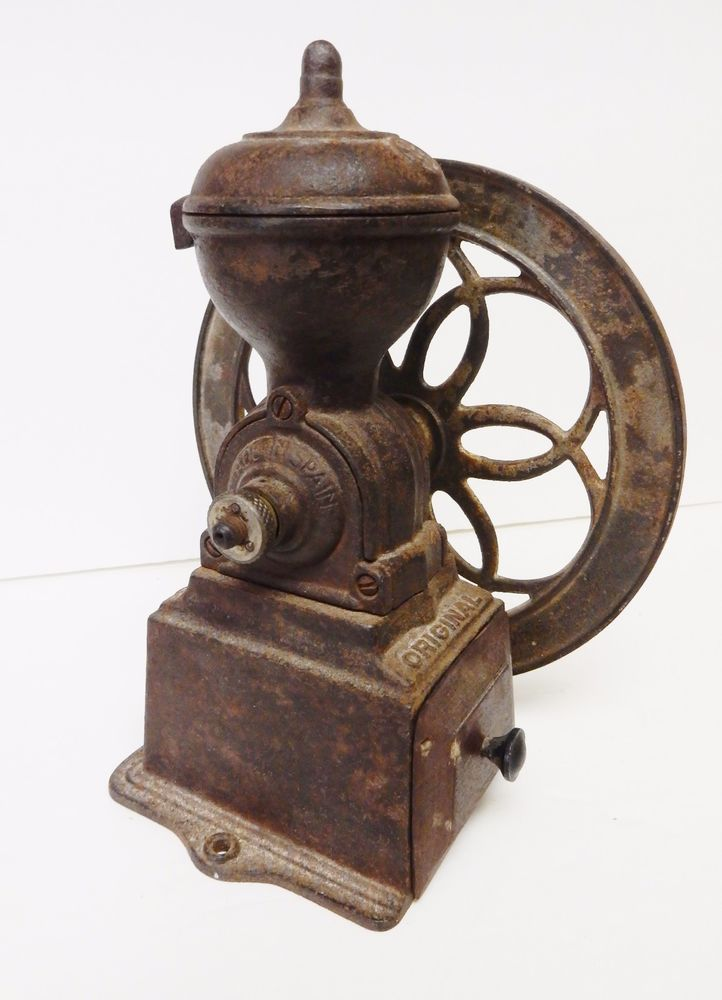 Antique Coffee Grinder Mill Original