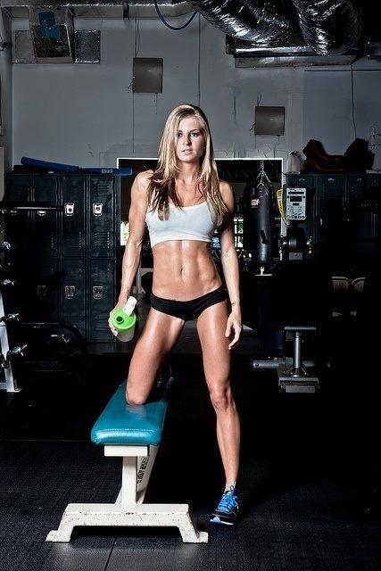 Fit Bodies for motivation! want to be this toned by summer! so far on the right track:)