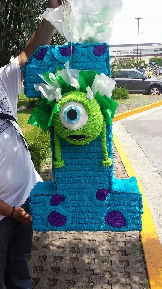 Que tal nuestra piñata de numero 1 de Monsters Inc? Y ustedes ya hicieron su pedido de Septiembre?