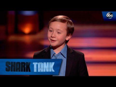 "El niño de 10 años que nadó e impresionó en ""Shark Tank"" EUA"