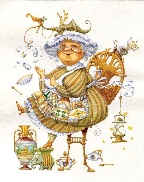 Непомнящий Дмитрий + Попугаева Ольга http://illustrators.ru/users/id1779/portfolio