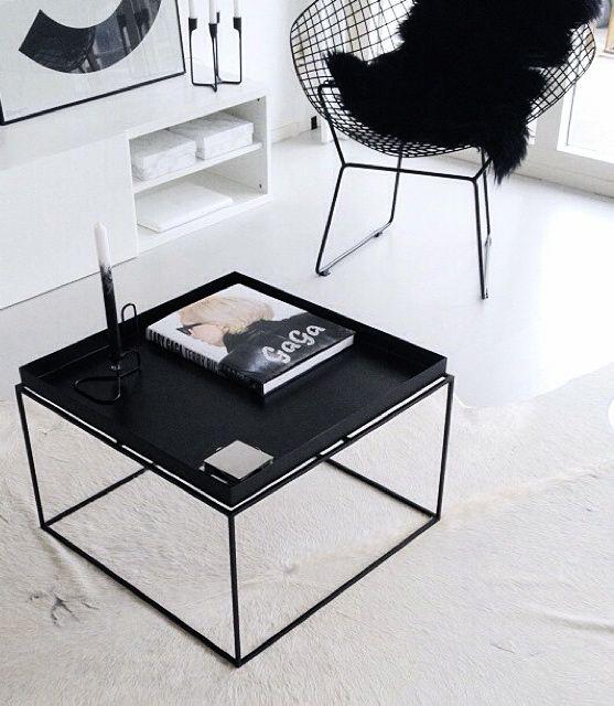 Via moderosa home hay bertoia chair nordic details pi - Bertoia coffee table ...